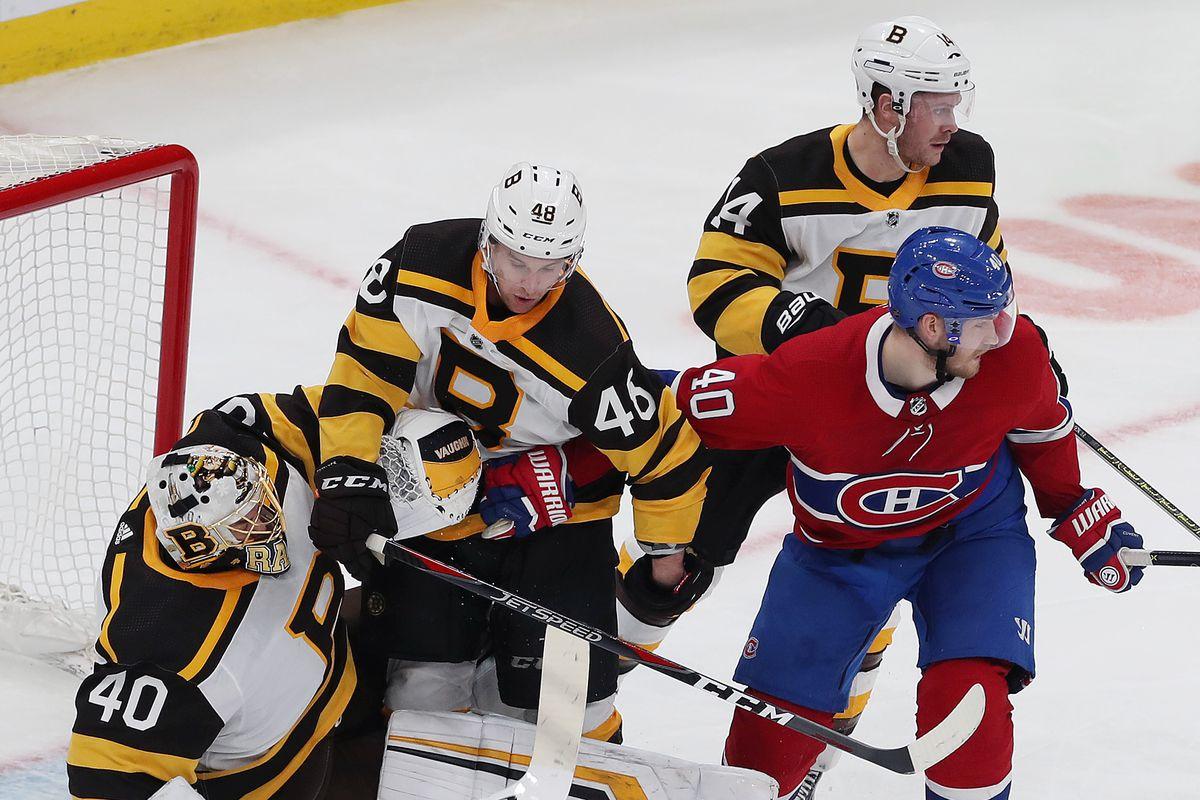 Montreal Canadiens Vs Boston Bruins At TD Garden