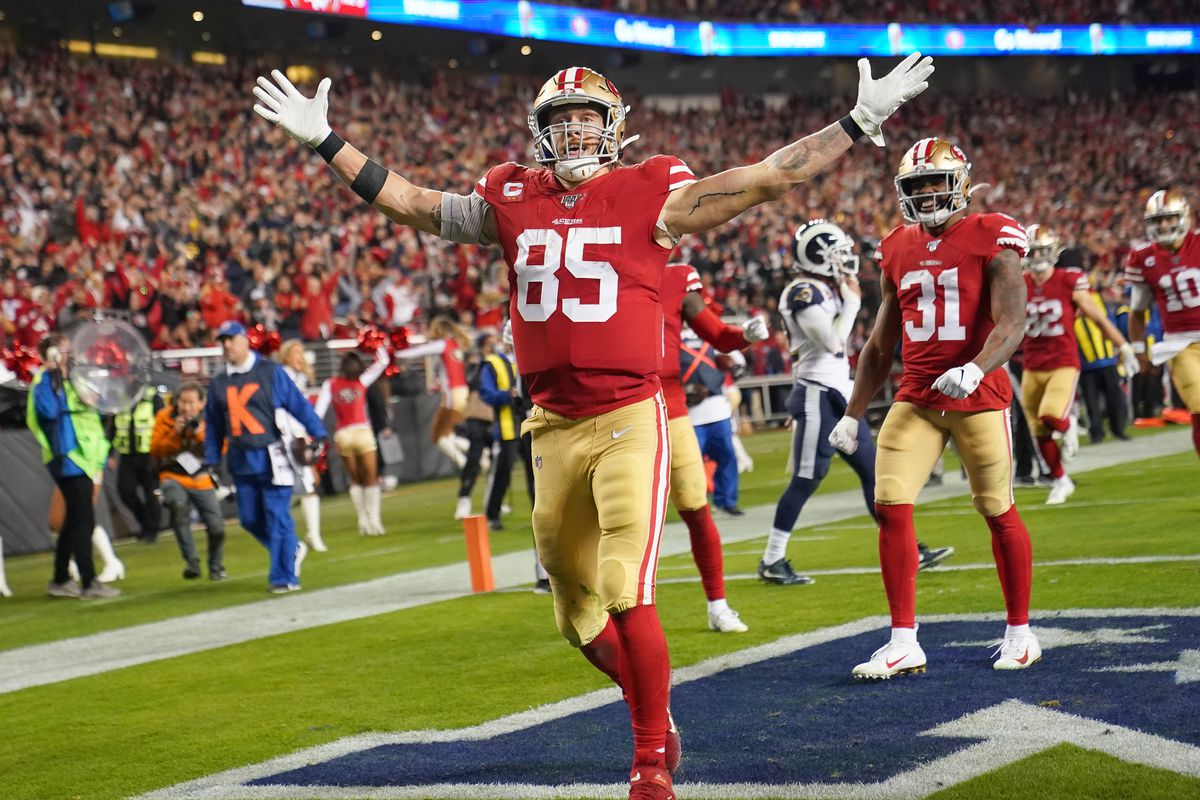 49ers News Ian Rapoport On George Kittle My Understanding Is That They Are Not Particularly Close On A Deal Niners Nation