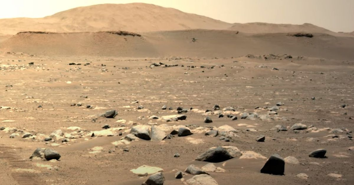 Ingenuity takes its third flight on Mars