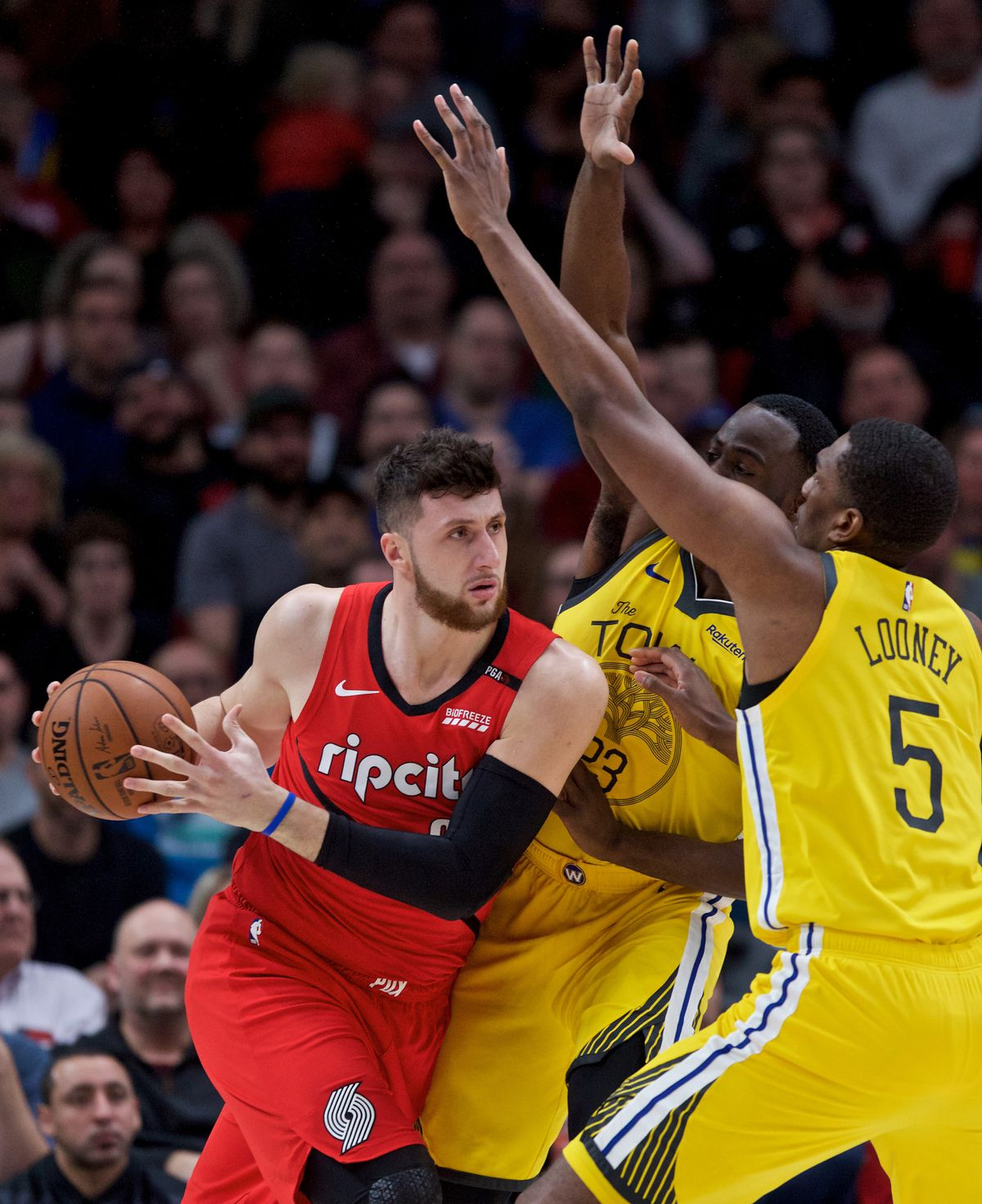 Portland Trail Blazers Vs Warriors: Warriors Vs. Blazers Analysis: Bench And Subs Contribute