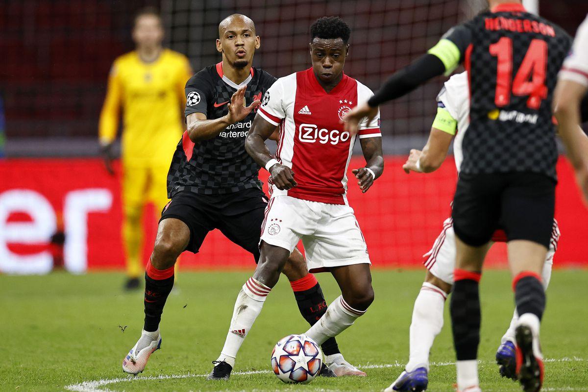"UEFA Champions League Group D""Ajax Amsterdam v Liverpool FC"""