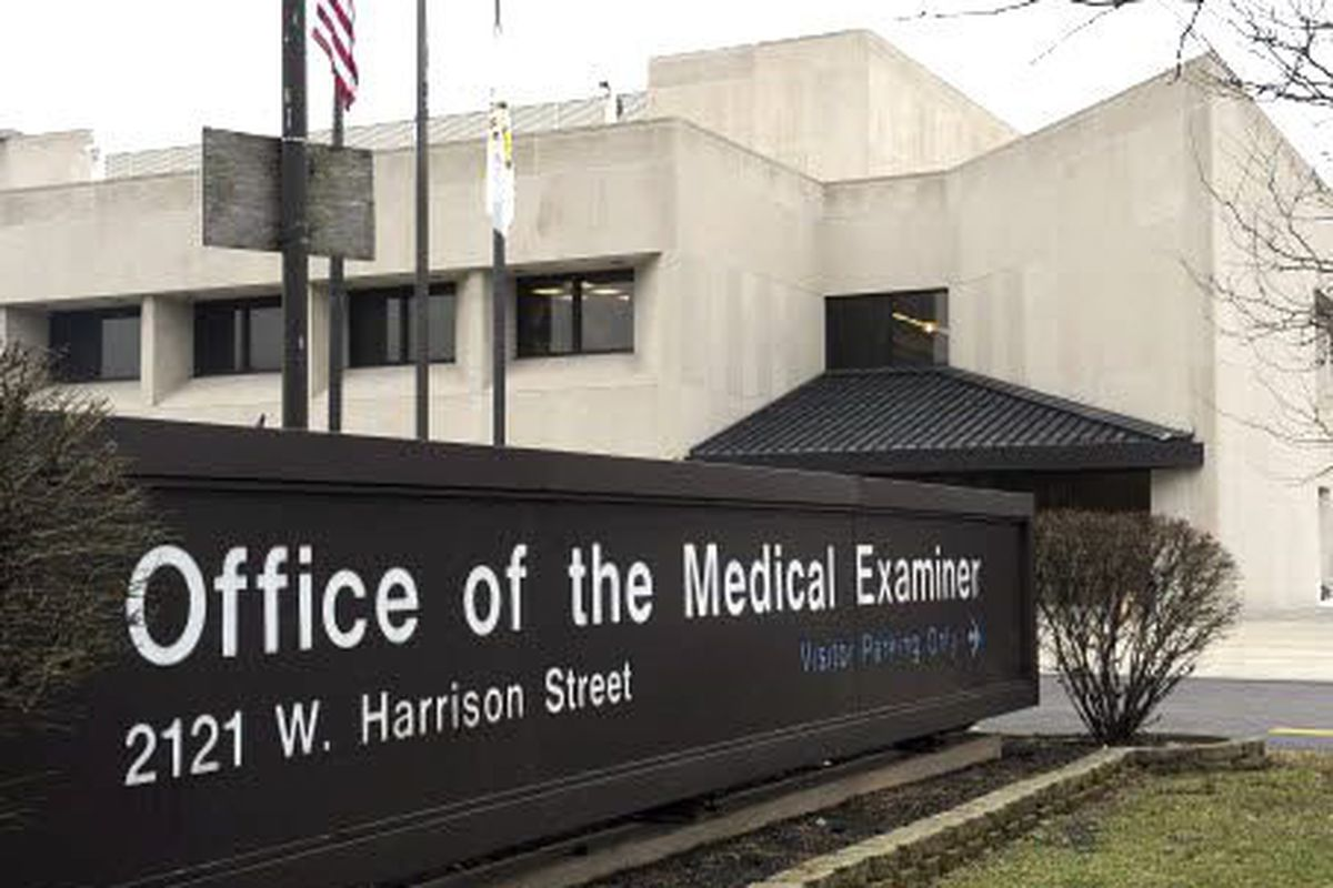 The Cook County medical examiner's office on the Near West Side.