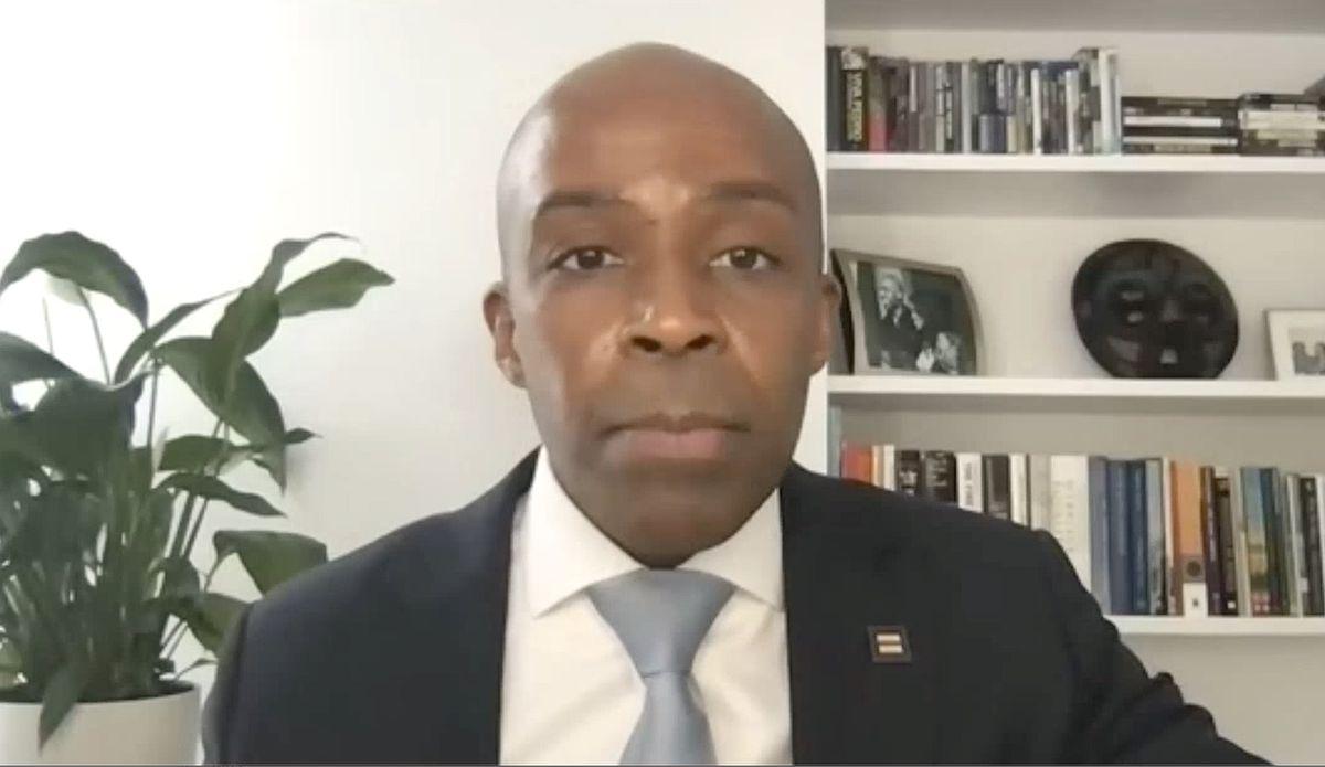 HRC president Alphonso David testified remotely.
