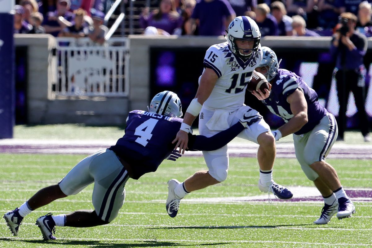 NCAA Football: Texas Christian at Kansas State