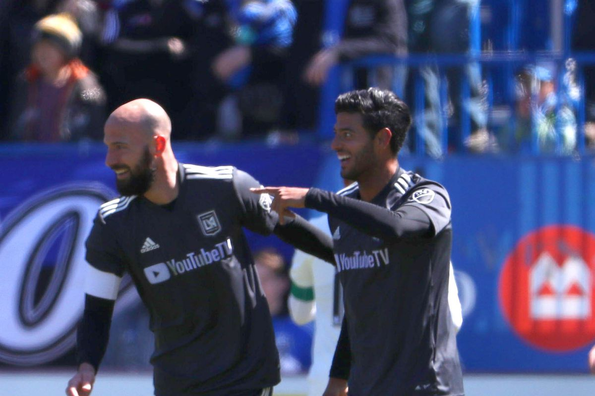 separation shoes 2f334 8b4e4 Carlos Vela, Laurent Ciman among eight LAFC players on 2018 ...