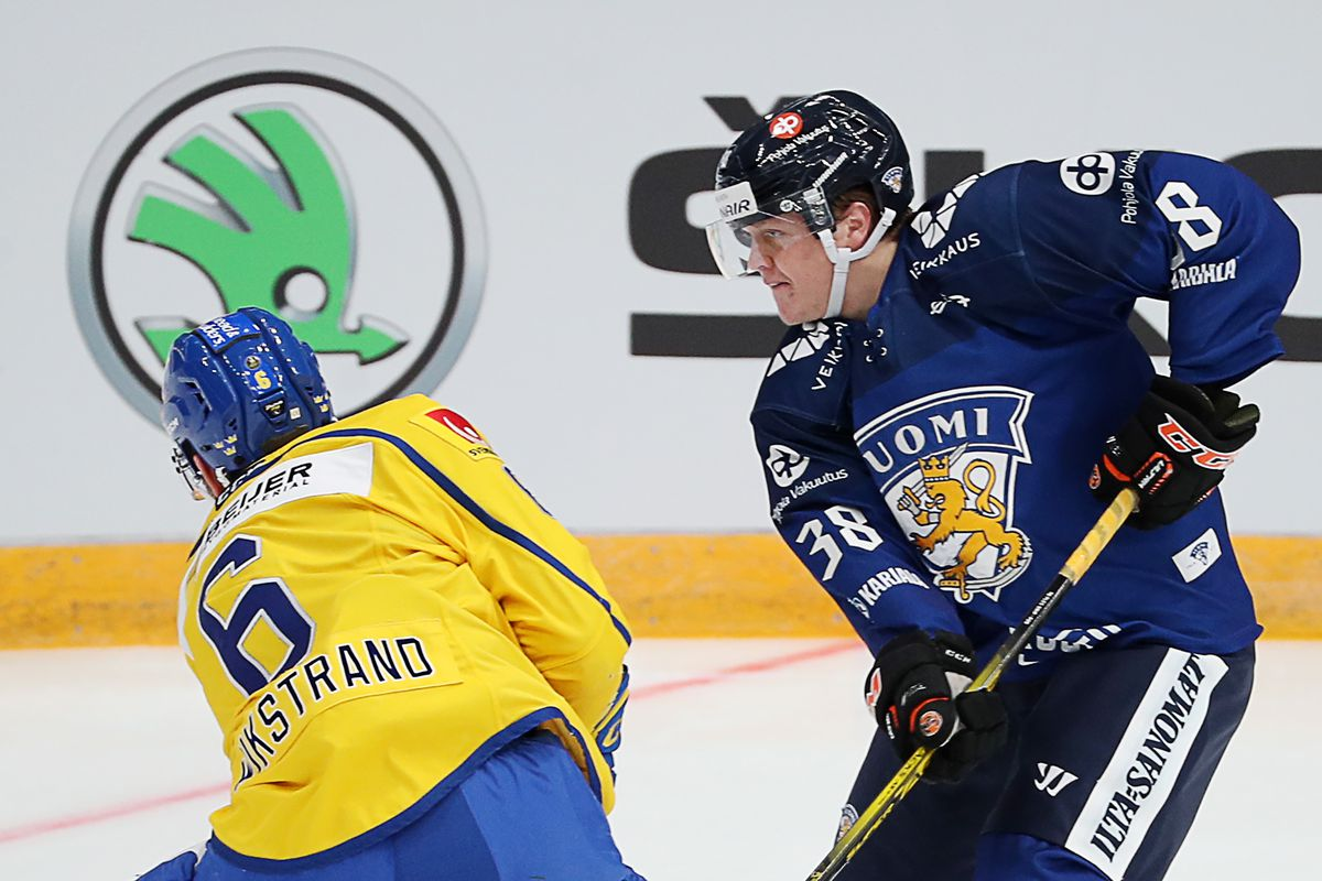 Channel One Cup: Finland vs Sweden
