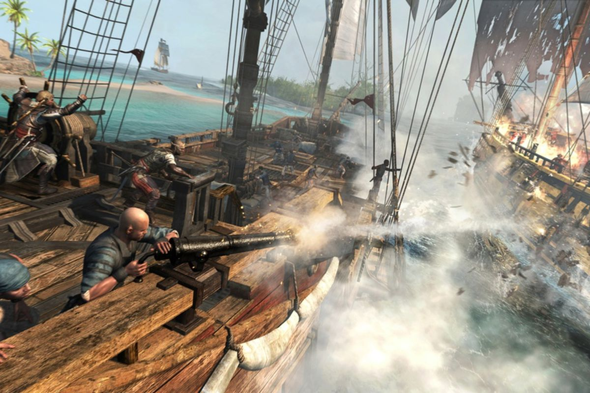 Assassin's Creed 4: Black Flag and the terrible beauty of