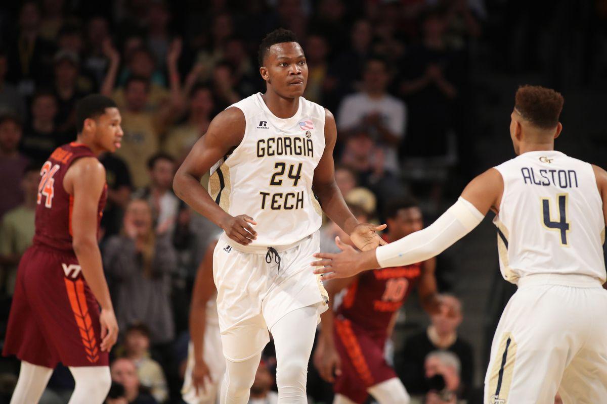 NCAA Basketball: Virginia Tech at Georgia Tech