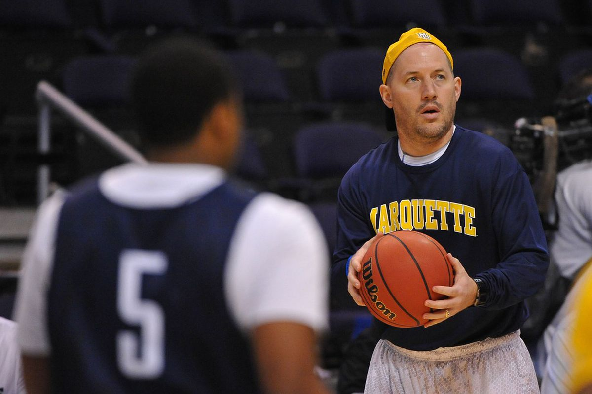 Buzz Williams back when he played Will Smith 1v1 in West Philly