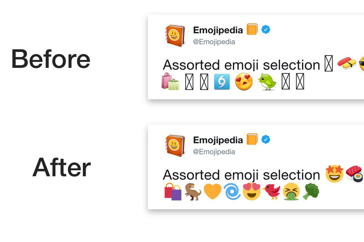 Twitter is finally getting its own dedicated emoji for Android users because of fragmentation