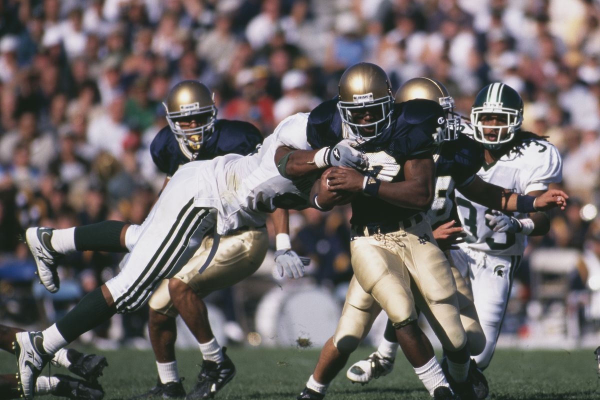 Michigan State Spartans vs Notre Dame Fighting Irish