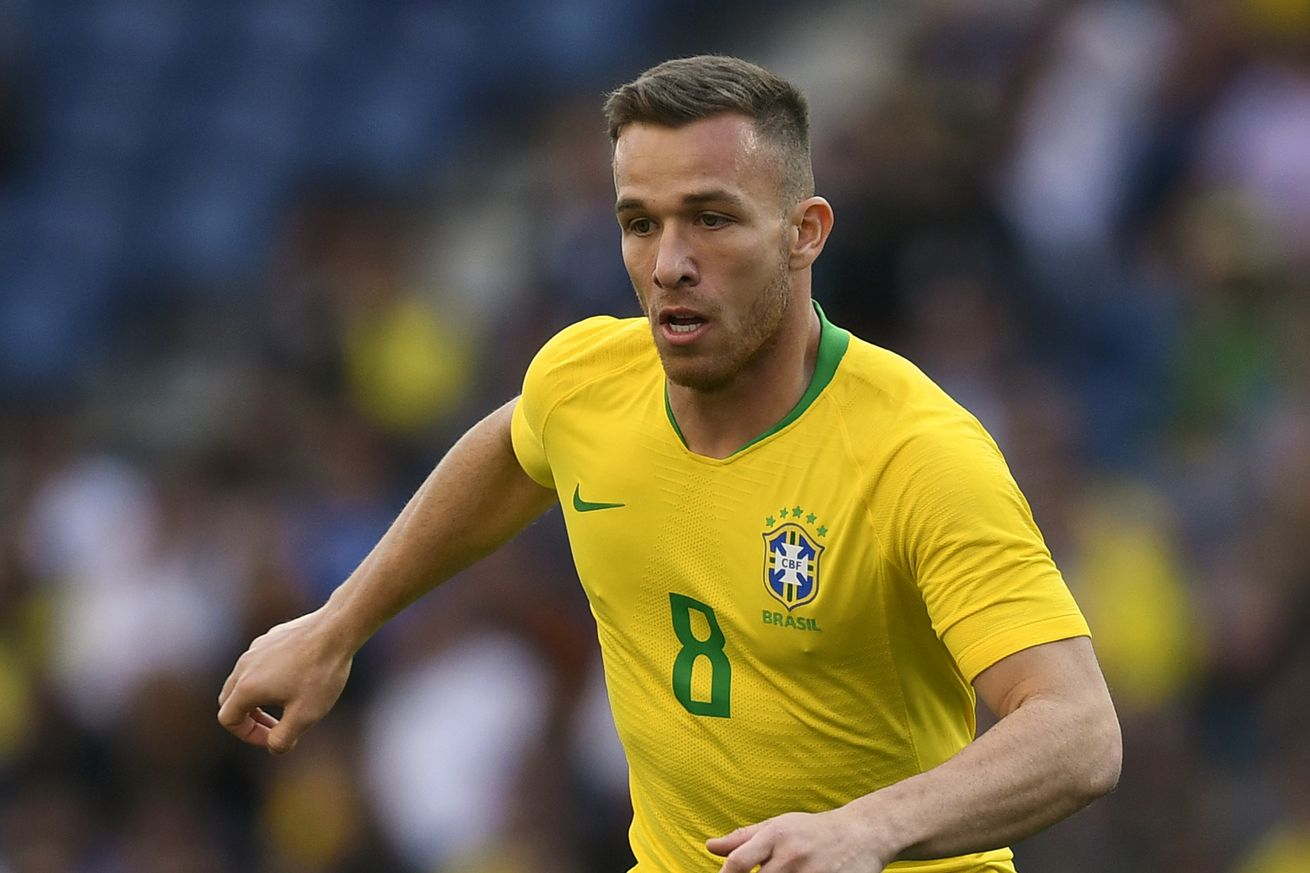 Arthur and Coutinho happy to have Neymar back at Barca