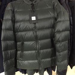 Men's puffer coat, $235 (was $395)