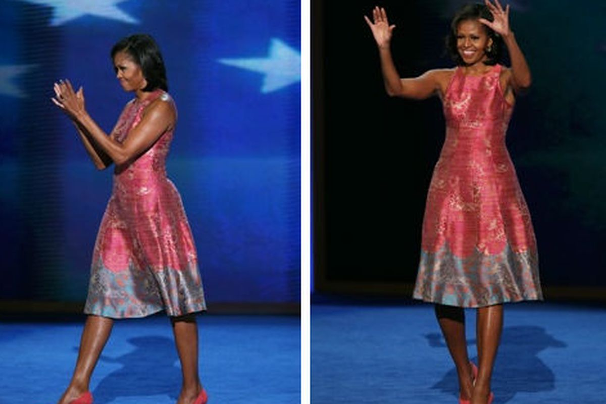 The dress will be in stores in just a short 8 to 12 weeks. Via Getty.