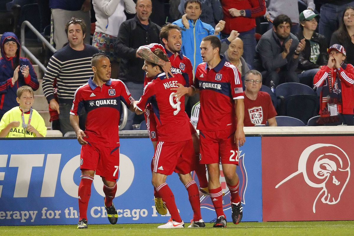 Super-sub Daniel Paladini helped the Fire salvage a 2-2 draw with the Portland Timbers