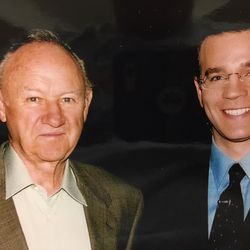 Larry Potash with Actor Gene Hackman in 2004.   Provided