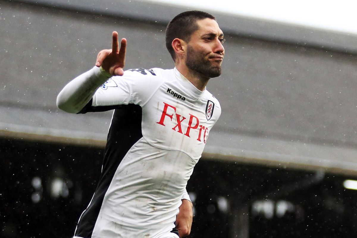 6162a662f Clint Dempsey headed to Fulham on two-month loan