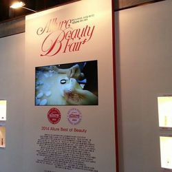 """I accompany my friend to Korea's Allure Beauty Fair, where the year's leading Korean beauty products are honored. She's super stoked that she gets to take home an award for her male cosmetics line,  <a href=""""http://swagger.kr/"""">Swagger</a>."""