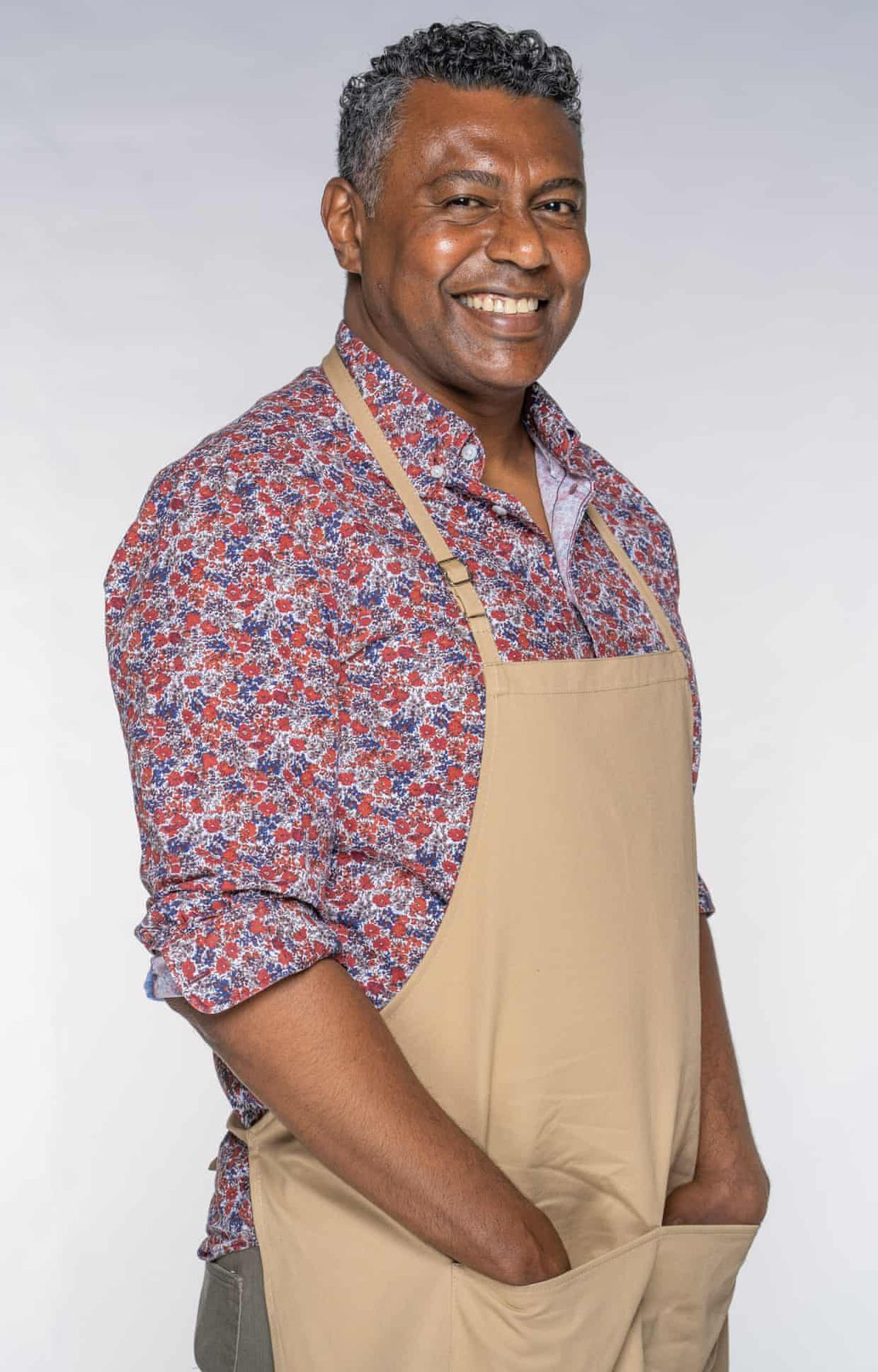 Great British Bake Off 2021 contestant Jairzeno, who will compete on GBBO this year