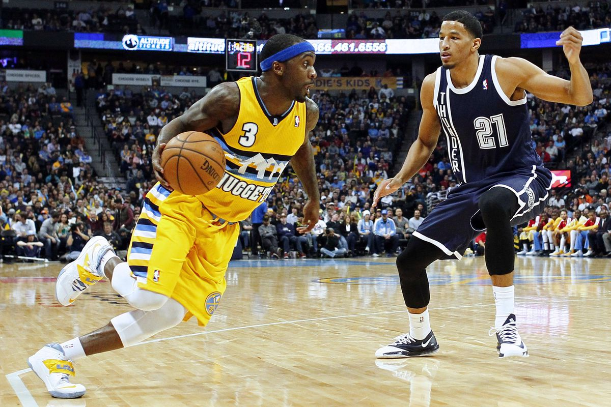 Ty Lawson and the Denver Nuggets are on a roll.