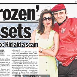 Curtis Sliwa's ex-wife, Mary Sliwa, accused him and now-Queens District Attorney Melinda Katz in 2013 of scamming her out of money, the Daily News reported.