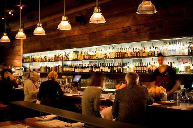 The bar at Oven & Shaker