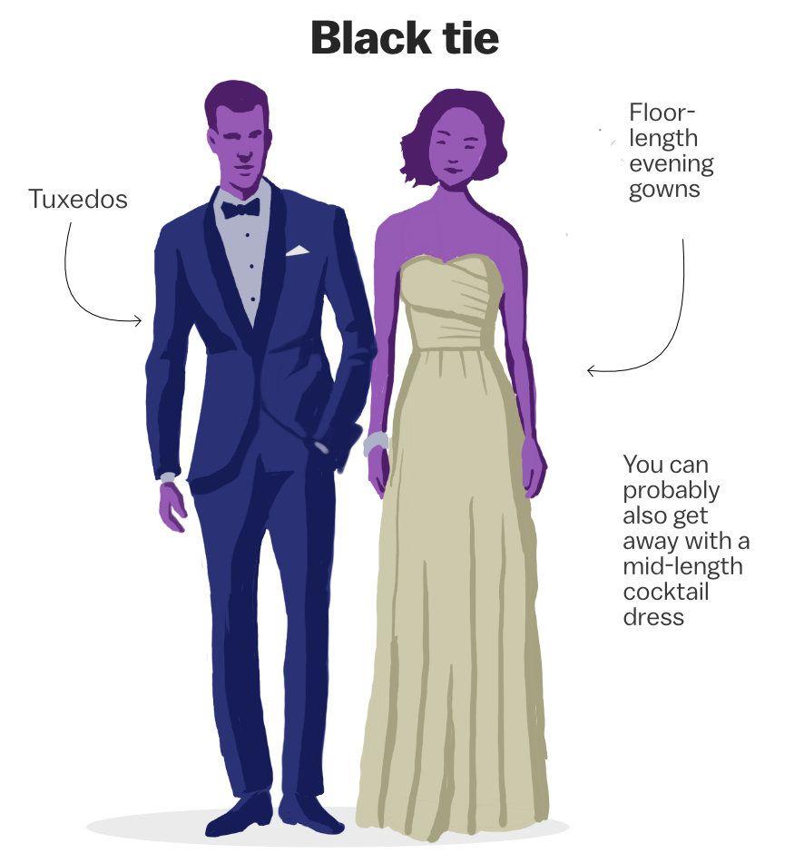 Decoding the wedding dress code - Vox