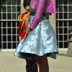 In Barbara Tfank at the Garden of Buckingham Palace in London, England on May 24, 2011
