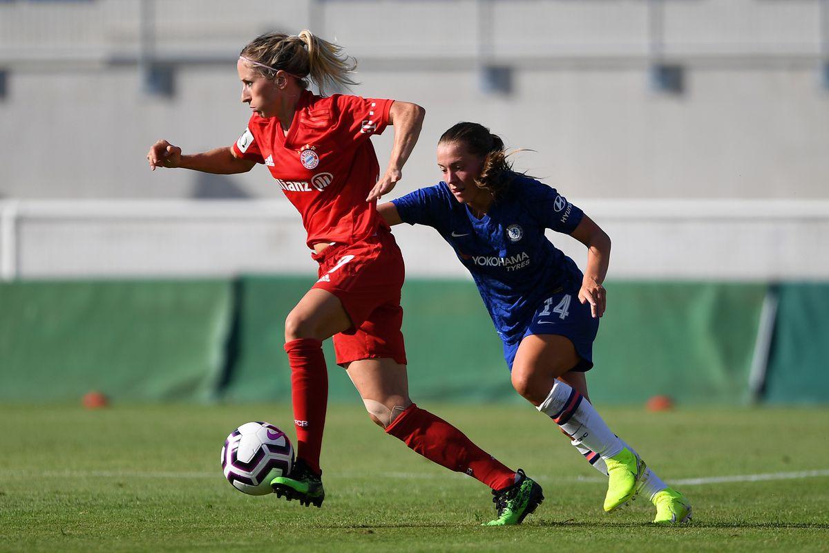 Chelsea Women v Bayern Munich Women - Women's French Cup at Stadium