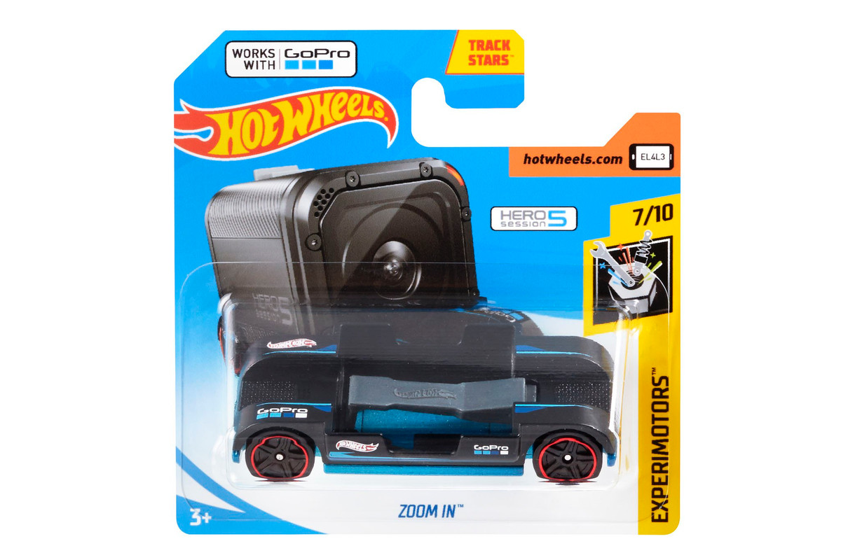 Hot Wheels New 1 Toy Car Has A Gopro Mount The Verge