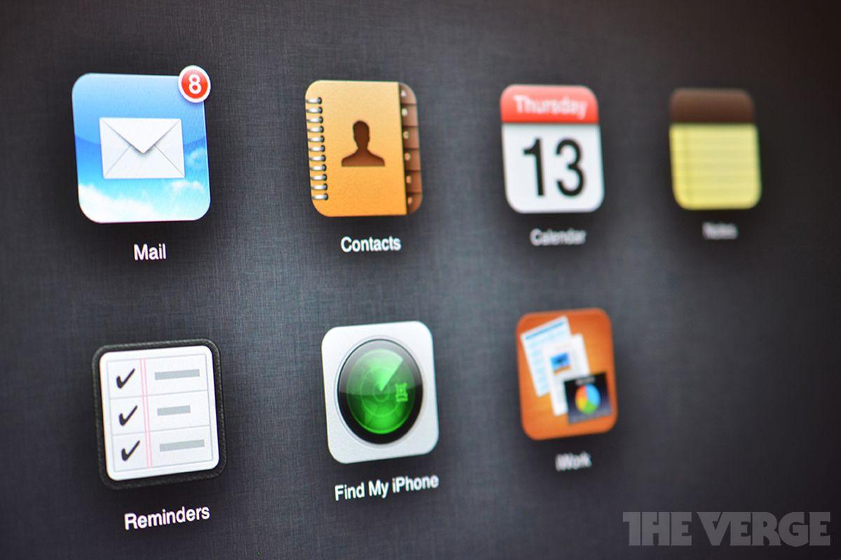 Revamped iCloud.com