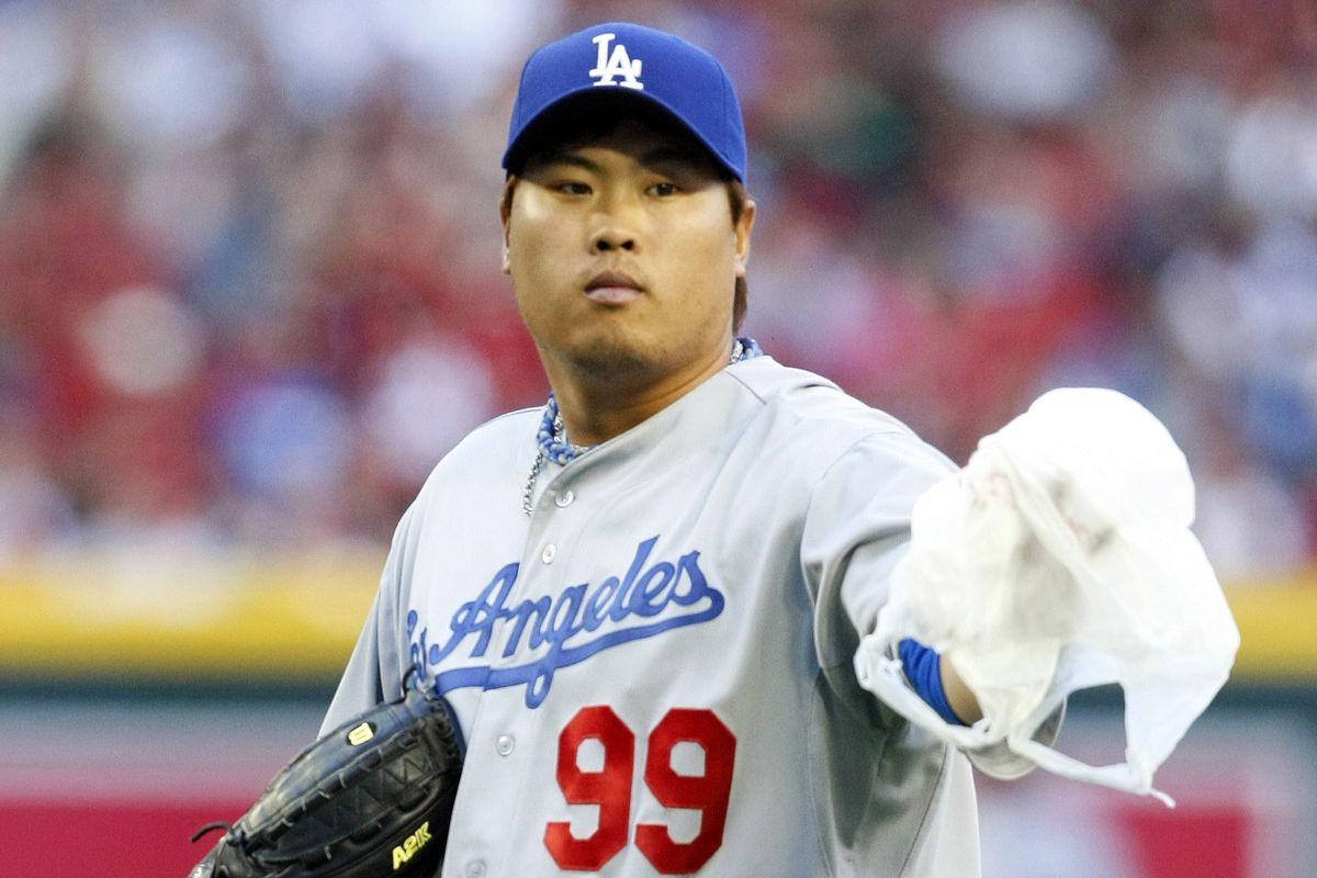 Hyun-jin Ryu has been a Korean beauty so far for the Dodgers.
