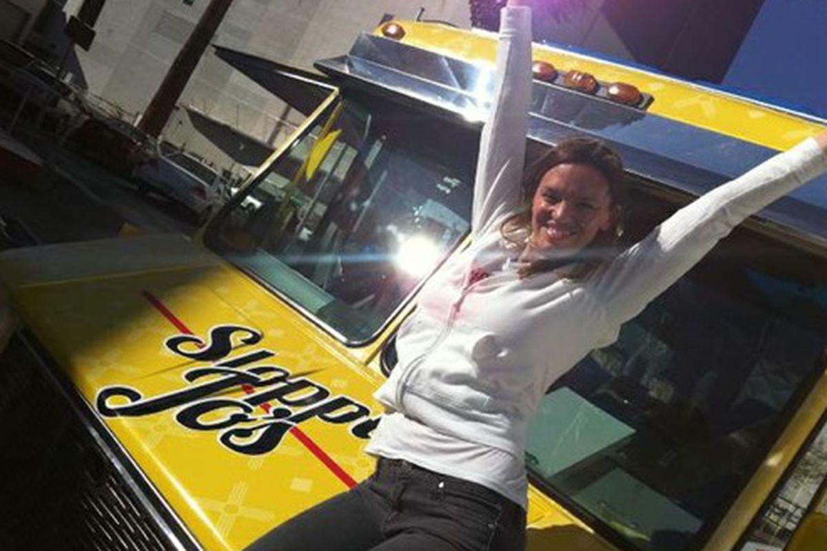 """Jolene Mannina of Sloppy Jo's. Photo courtesy of <a href=""""http://www.lasvegasweekly.com/news/2012/jan/13/breaking-rules-and-restaurant-model-jolene-mannina/"""">Las Vegas Weekly/Jolene Mannina</a>"""
