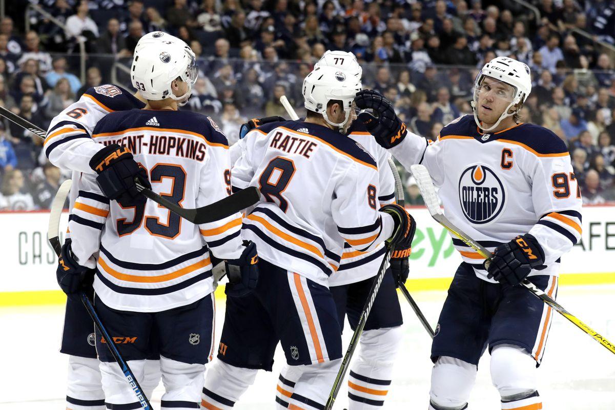 NHL: Edmonton Oilers at Winnipeg Jets