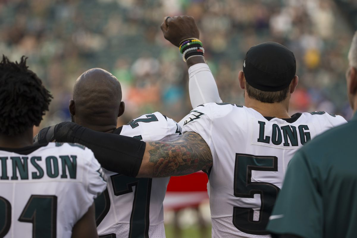 Long supports Malcolm Jenkins' protest during anthem