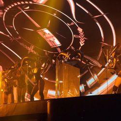 Dancers at Hakkasan on Friday night. Photo: Al Powers/Powers Imagery LLC