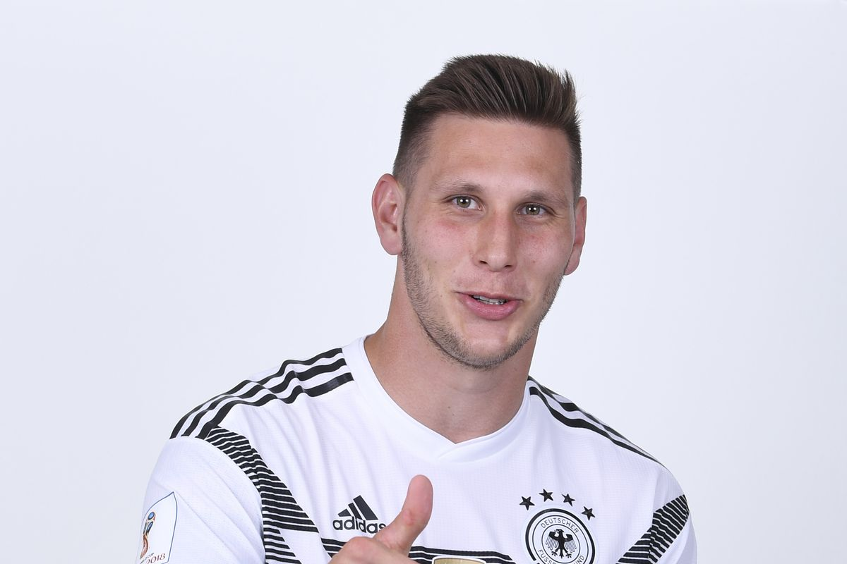 MOSCOW, RUSSIA - JUNE 13: Niklas Suele of Germany pose for a photo during the official FIFA World Cup 2018 portrait session on June 13, 2018 in Moscow, Russia.