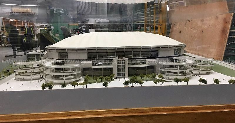 Mercedes Benz Seattle >> Georgia Dome model randomly emerges at auction—and nobody ...