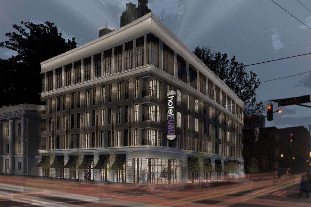 Syntony Design Collaborative's award-winning vision for a Sweet Auburn corner.