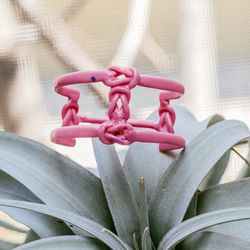 This is the wax version of our new Stacked Lover's Knot Cuff for fall/winter 2014.