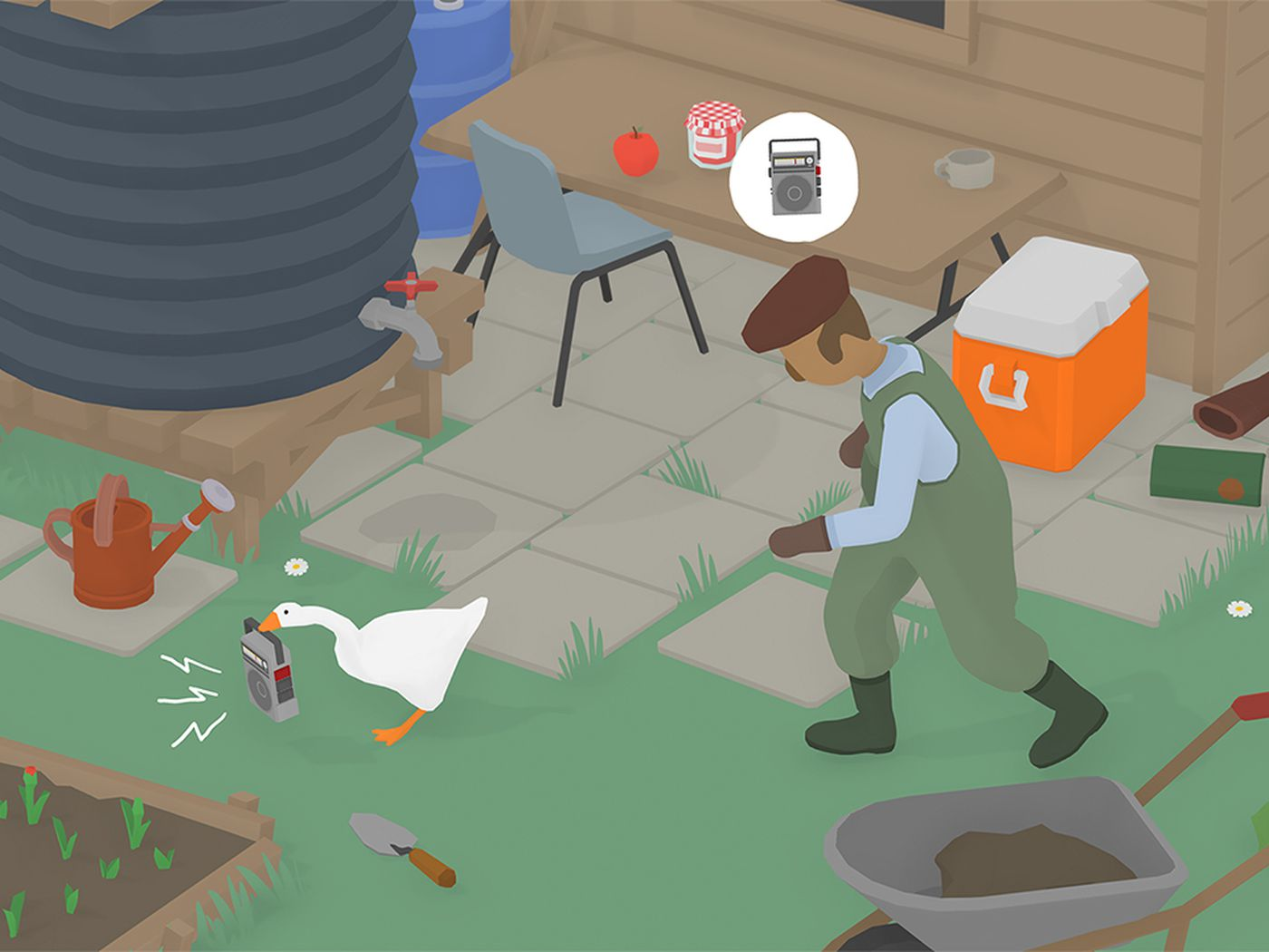 Untitled Goose Game The Garden To Do List Guide Polygon