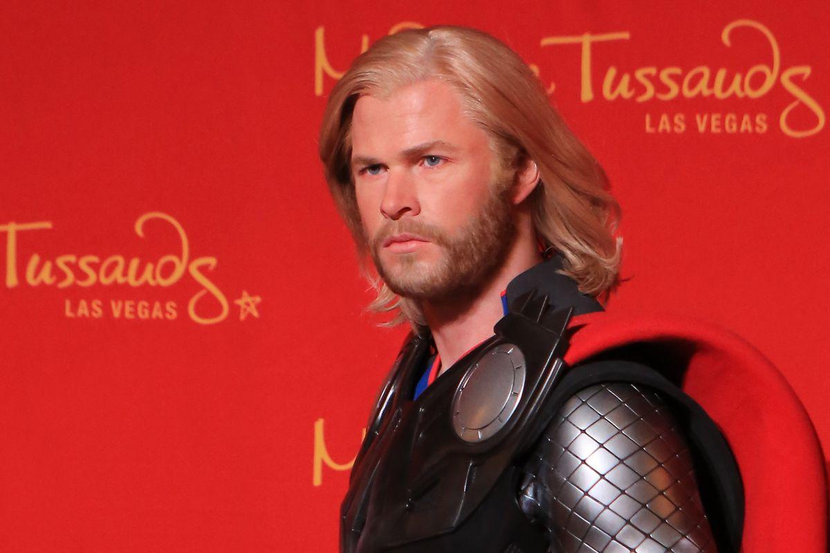 Madame Tussauds Las Vegas Unveils Wax Figure Of Marvel's Super Hero Thor