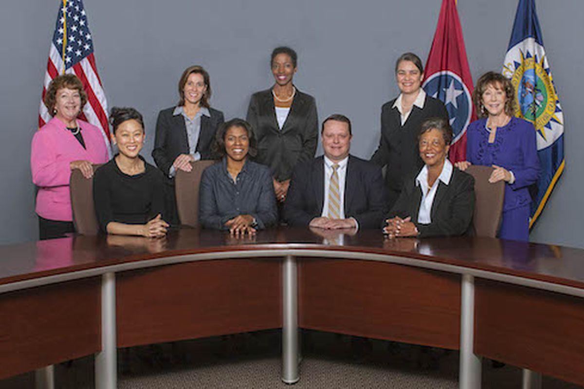 Board members for Metro Nashville Public Schools