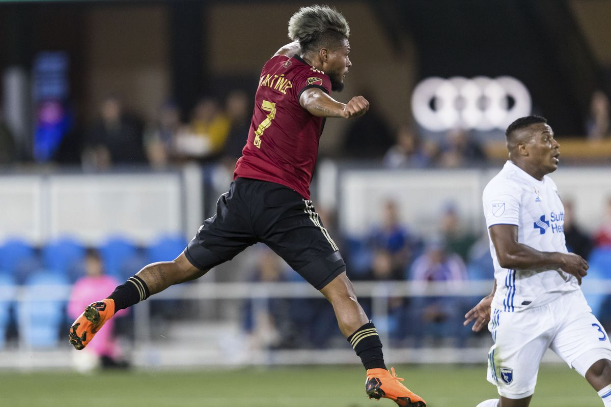 MLS: Atlanta United FC at San Jose Earthquakes