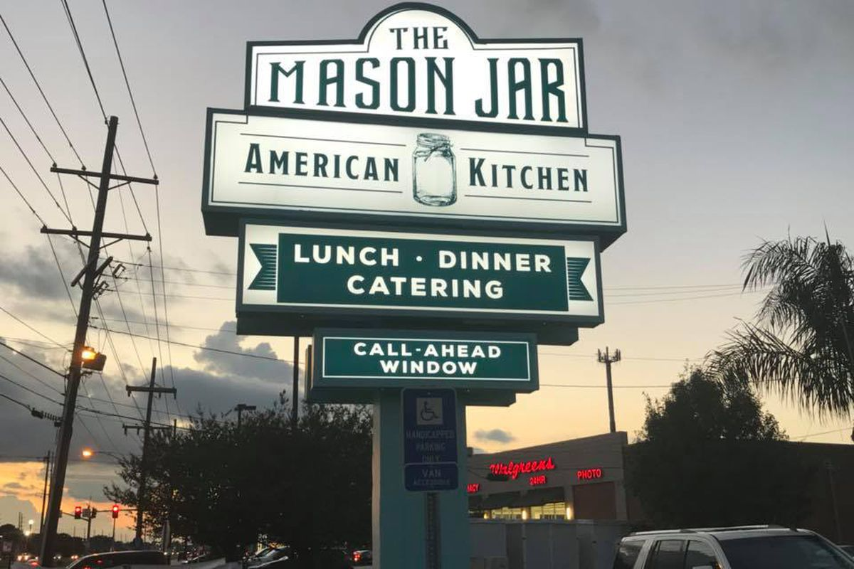 Super Affordable Mason Jar Restaurant Lands In Metairie