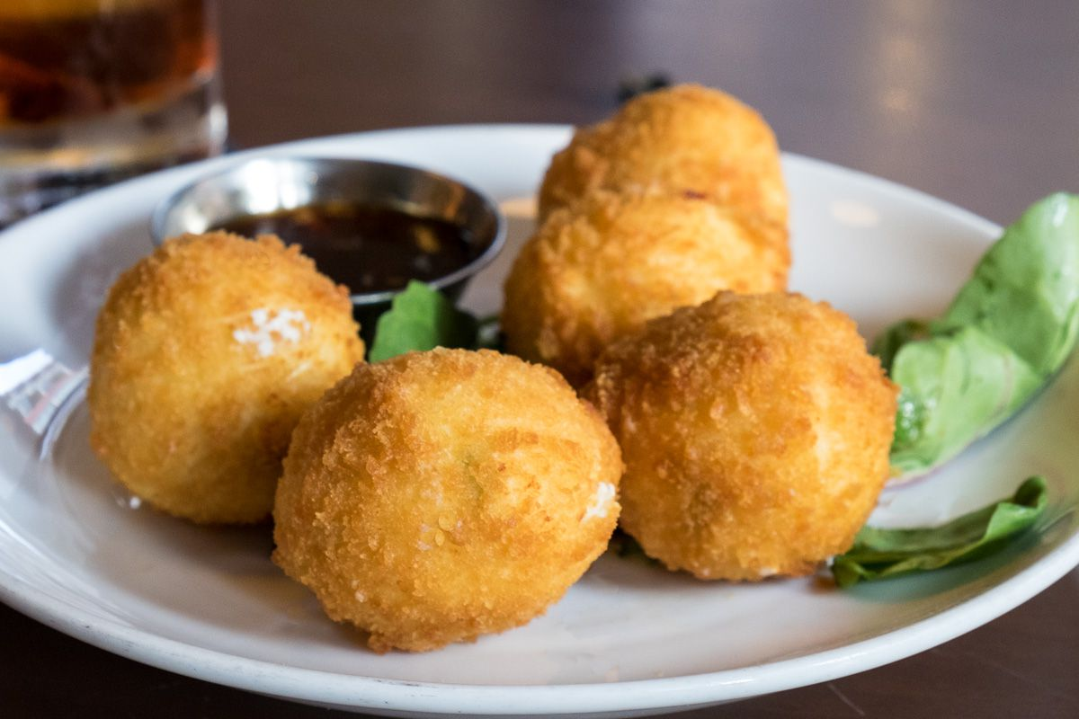 Fried Goat Cheese at Half Door Brewing Company