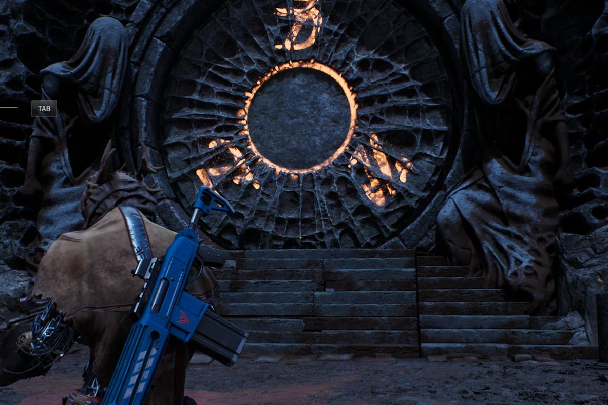 Forgotten Chapel vault door in Outriders