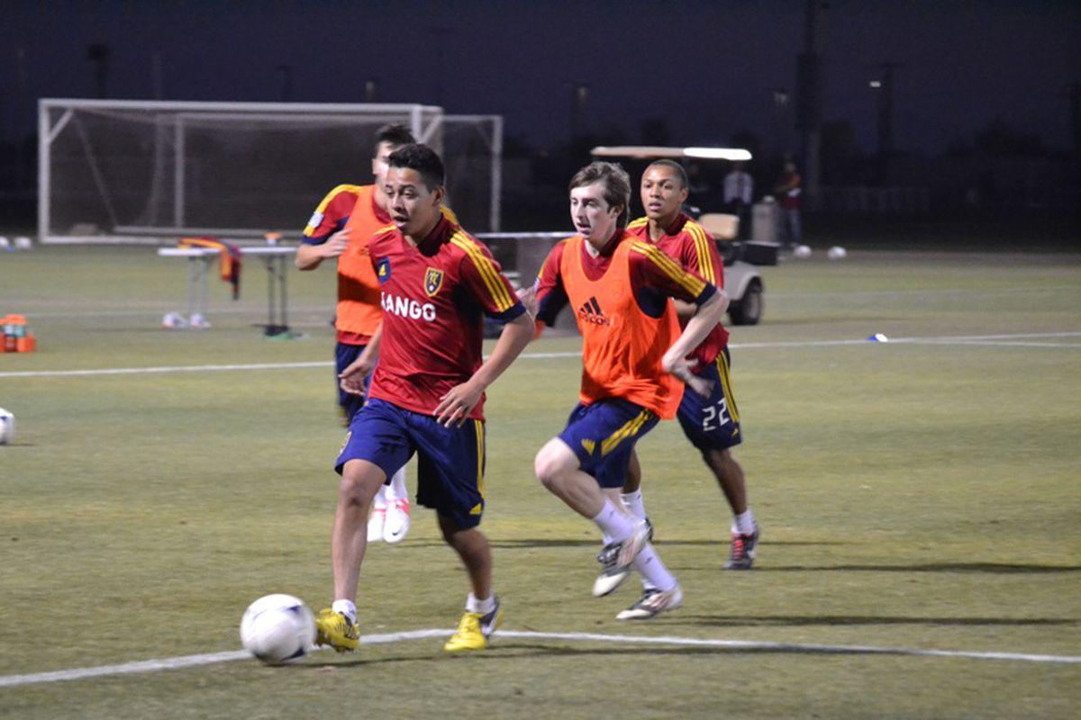 Archive photo of Sebastian Saucedo while at RSL-AZ academy