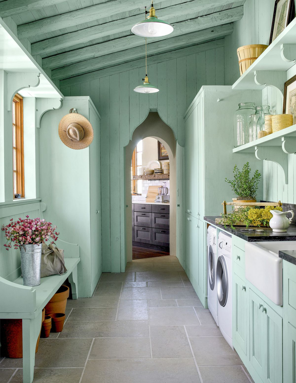 Laundry Room Potting Room Combination This Old House