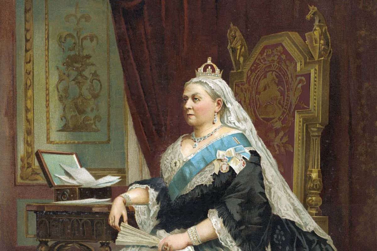 Queen Victoria of England - portrait of Her Majesty in 1887.